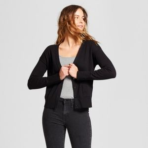 A New Day Black Any Day V-Neck Cardigan Sweater